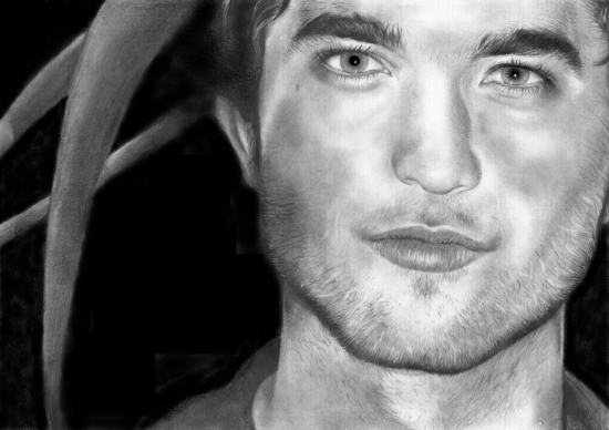 Robert Pattinson by Veronica
